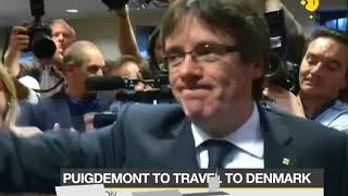 Puigdemont to travel to Denmark