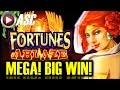 *MEGA BIG WIN!* FORTUNES ABLAZE | 200+ FREE SPINS! MAX BET! Slot Machine Bonus (Konami)