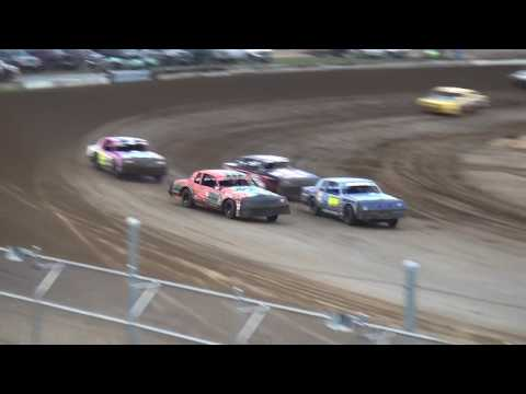 IMCA Hobby Stock Heats Independence Motor Speedway 8/5/17