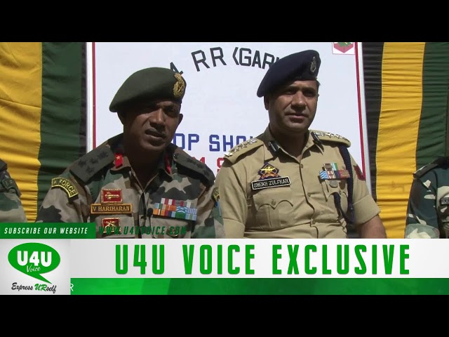 Joint press conference of Army and police on Arin Bandipora Shokbaba encounter