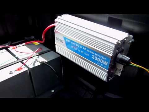 2000 Watt Portable Solar Generator