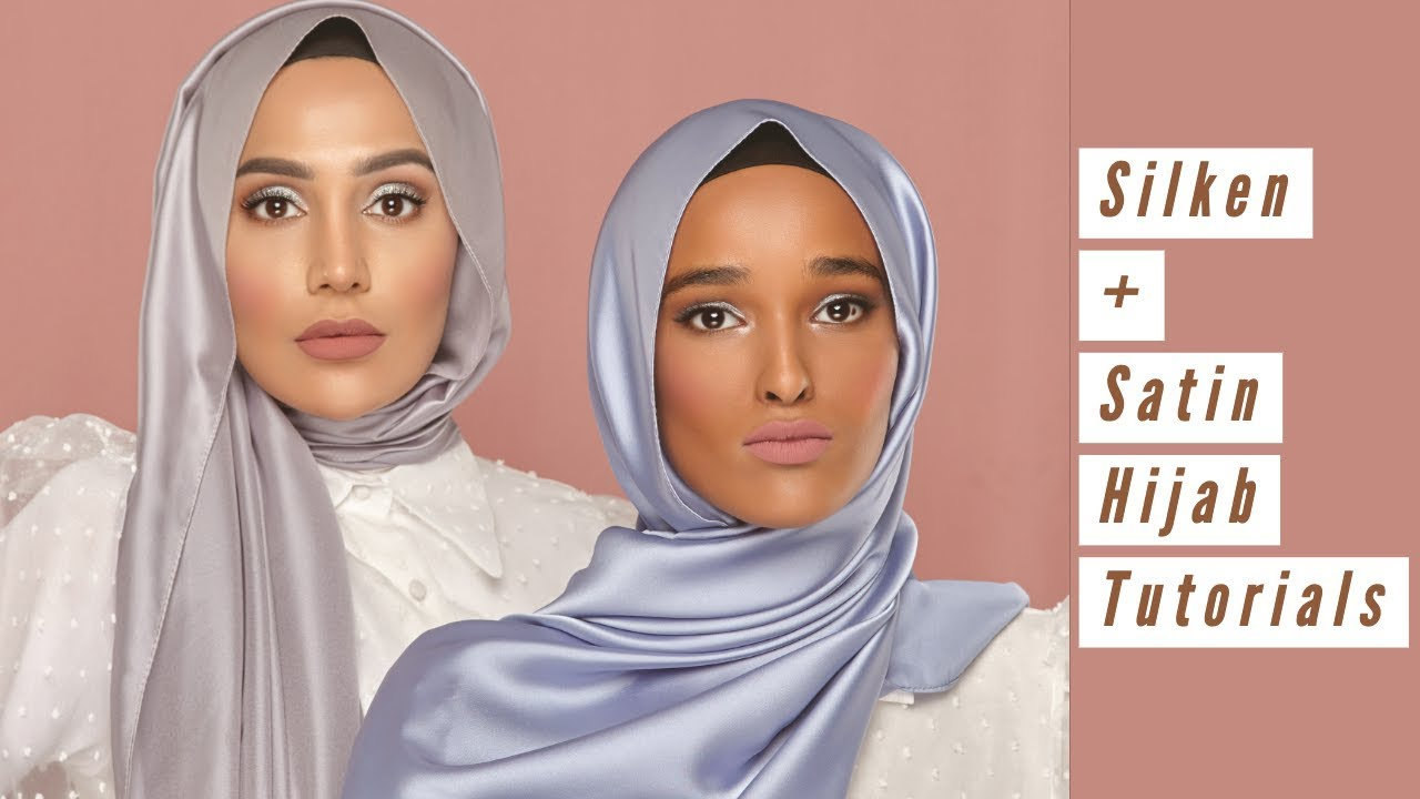 [VIDEO] - EASY SATIN HIJAB STYLES | Amena 3