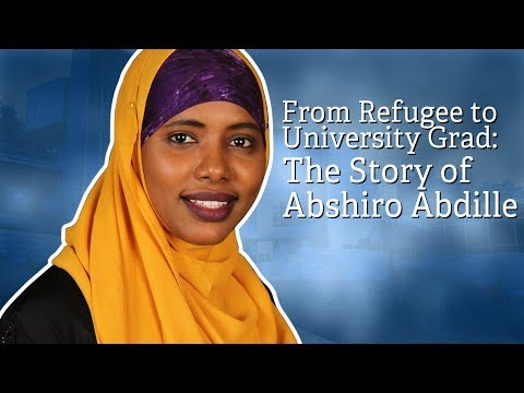 From refugee to university grad: The story of Abshiro Abdille