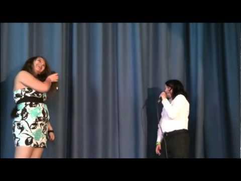 Alisha.Ashley at Corkran Middle School Talent Show 2011