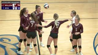 Volleyball   Ava vs Willow Springs   9-28-21 Full Game