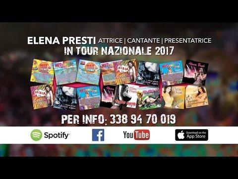 Promo tour nazionale Elena Presti, info concerti  agenzia Mediterraneos Production