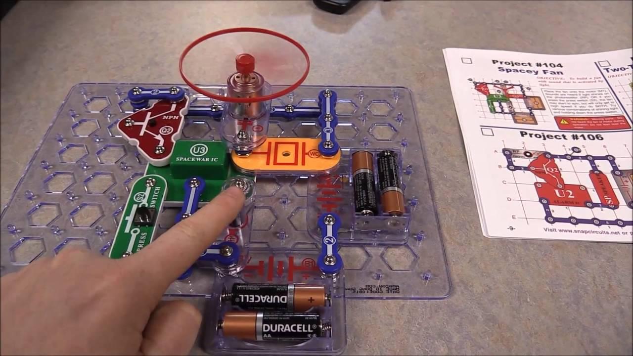 snap circuits wvls maker space kit 2016 youtube rh youtube com Snap Circuit Pieces Snap Circuits Extreme SC 750
