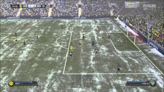 FIFA 15 снег 30 fps