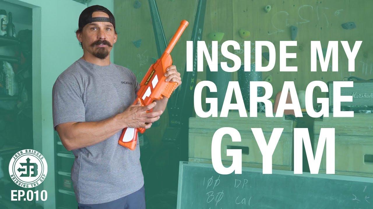 Crossfit games athlete garage gym bridging the gap ep youtube