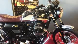 2017 Moto Guzzi v7 50th Anniversary - Walk Around