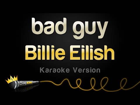 Billie Eilish - bad guy Karaoke