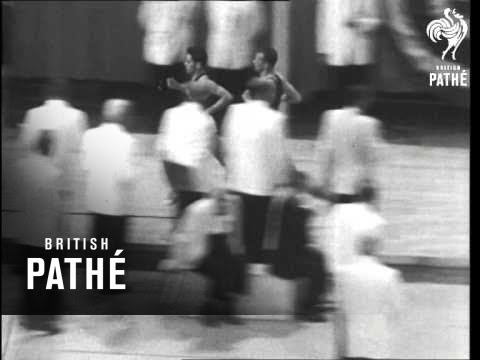 First Indoor Under 4 Minute Mile (1962)