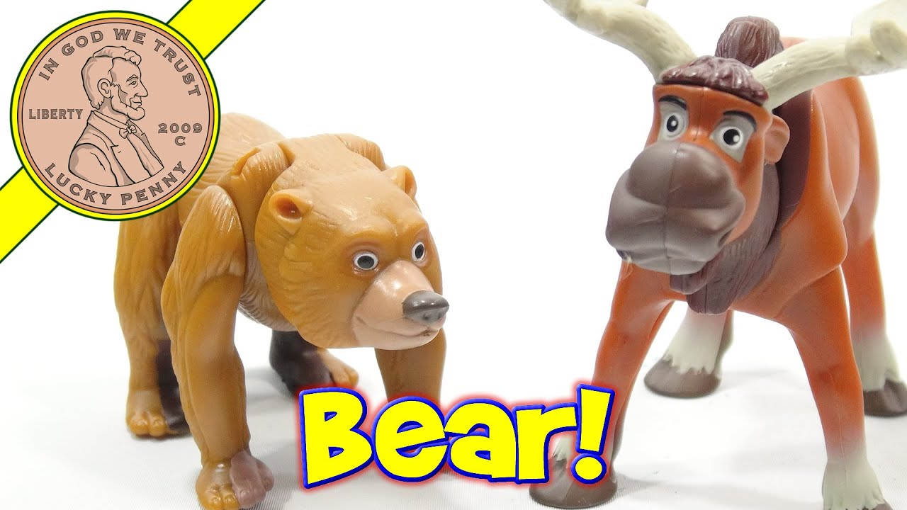 Toys For Brothers : Brother bear mcdonald s happy meal toys youtube