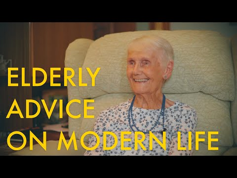 Elderly Advice On Modern Life