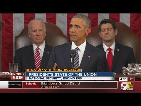 State of the Union: Obama frustrated over divided America during State of the Union address