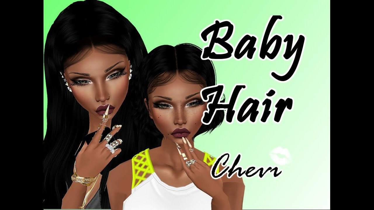 How To Make Imvu Babyhair Youtube