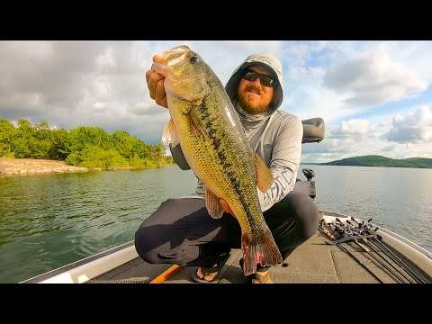 Bass Fishing Grand Slam On Table Rock Lake!