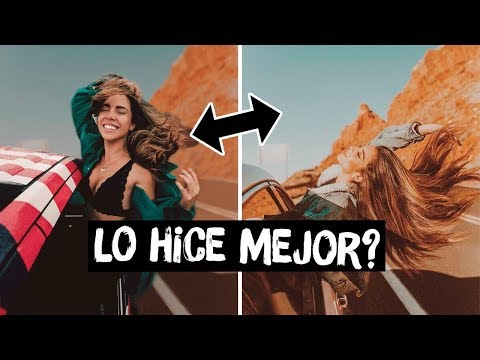 IMITANDO FOTOS TUMBLR EN EL DESIERTO ¿ME SALIERON? 😥| What The Chic