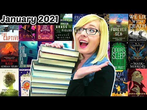 Most EXCITING Book Releases Of January 2021