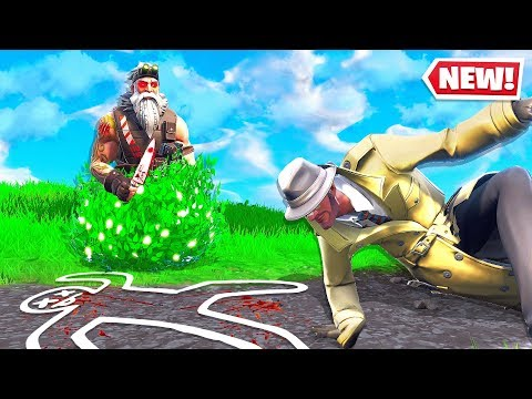 FORTNITE *NEW* MURDER MYSTERY CHALLENGE! (Fortnite Creative)