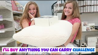 I'll Buy Anything You Can Carry Challenge ~ Jacy and Kacy