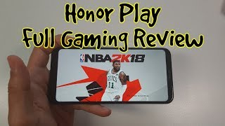 Huawei Honor Play Gaming review/High end games/Kirin 970 after updates/Any good?