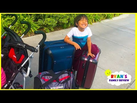 Twins babies first family Vacation and Hotel Tour