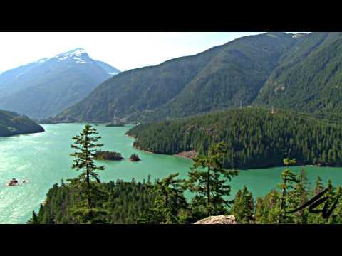 Washington State Cascades Mountain Range Drive - YouTube