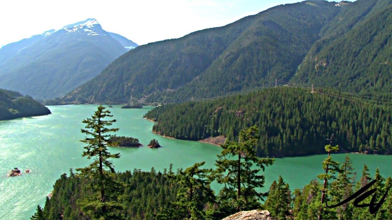 Washington State Cascades Mountain Range Drive