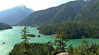 Washington State Cascades Mountain Range Drive - YouTube