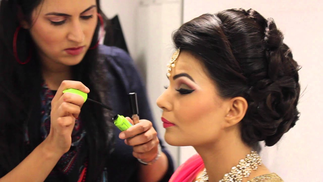 Wedding Reception Guest Makeup : Asian Bridal Makeup/ Asiana Shoot/ Pakistani/ Indian ...