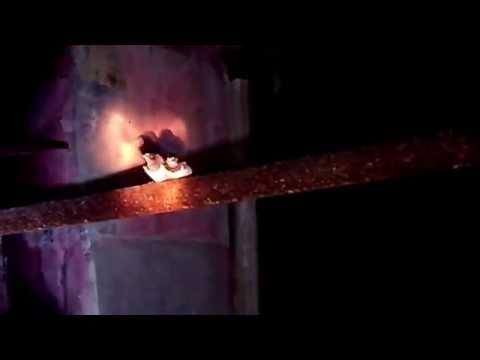 Обзор - Поход ( сталк ) - Крапивинский гидроузел часть # 2 подземелья.