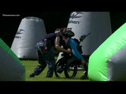 A new way to paintball: Adaptive paintball comes to Virginia Beach