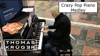 CRAZY POP PIANO MEDLEY at Brunswick Central Station – THOMAS KRÜGER