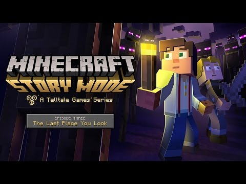 Let's Stream: Minecraft Storymode - Episode 3: The Last Place You Look