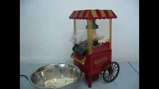 Mini Classic Cart Style Popcorn Machine