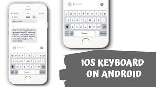 Gambar cover Keyboard IOS untuk Android !!!
