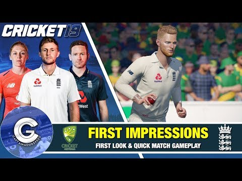 CRICKET 19 IS HERE!   Cricket 19 (PS4/XBOX ONE)   First Look & Review Of Cricket 19