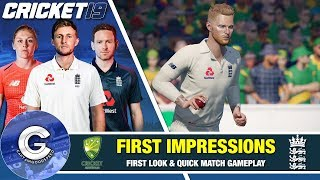CRICKET 19 IS HERE! | Cricket 19 (PS4/XBOX ONE) | First Look & Review of Cricket 19
