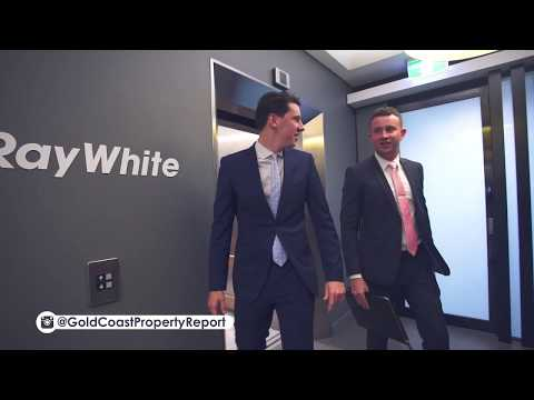 Jared Johnson and Lachlan Marshall Ray White Industrial/Commercial Gold Coast