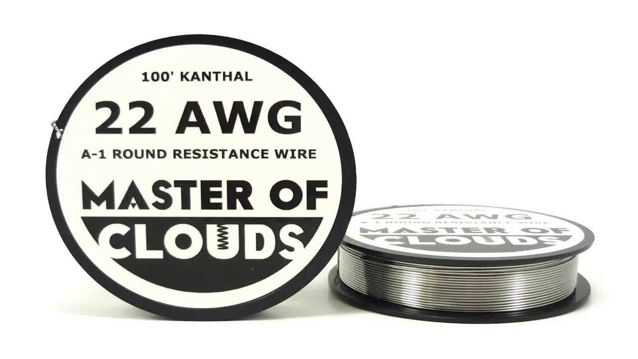 100ft. Kanthal A1 Resistance Wire 24 AWG Gauge 100 Lengths - YouTube