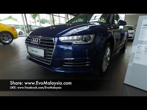 2017 Audi A4 B9 1.4 TFSi Inside Out by Evo Malaysia