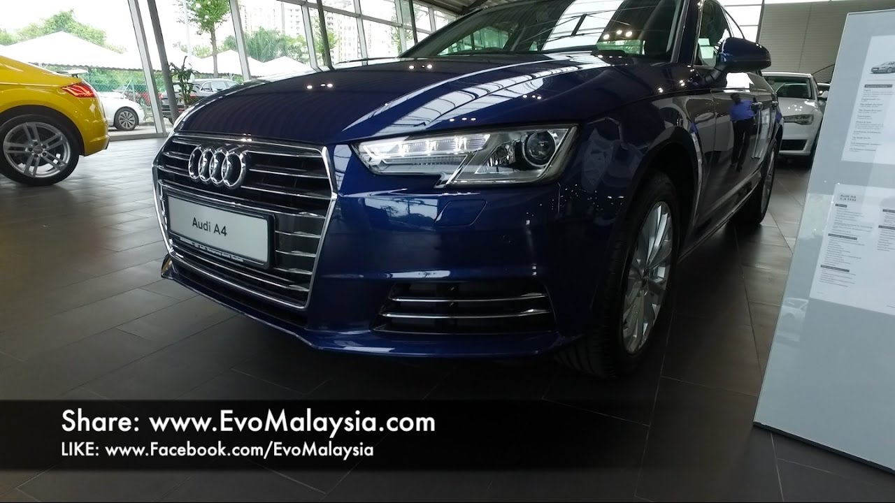 2017 Audi A4 B9 14 Tfsi Inside Out By Evo Malaysia Youtube