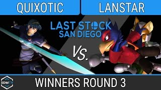 lssd 82 quixotic marth vs lanstar falcofox ssbm wr3 smash melee