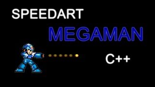 SPEED ART | Megaman Game (C++)