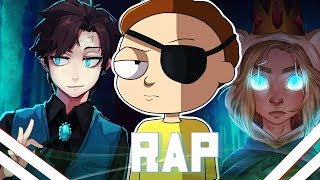 🔴Rap dos Bad End Friends | Dipper Gleeful - Evil Morty - Ice Finn | VMZ