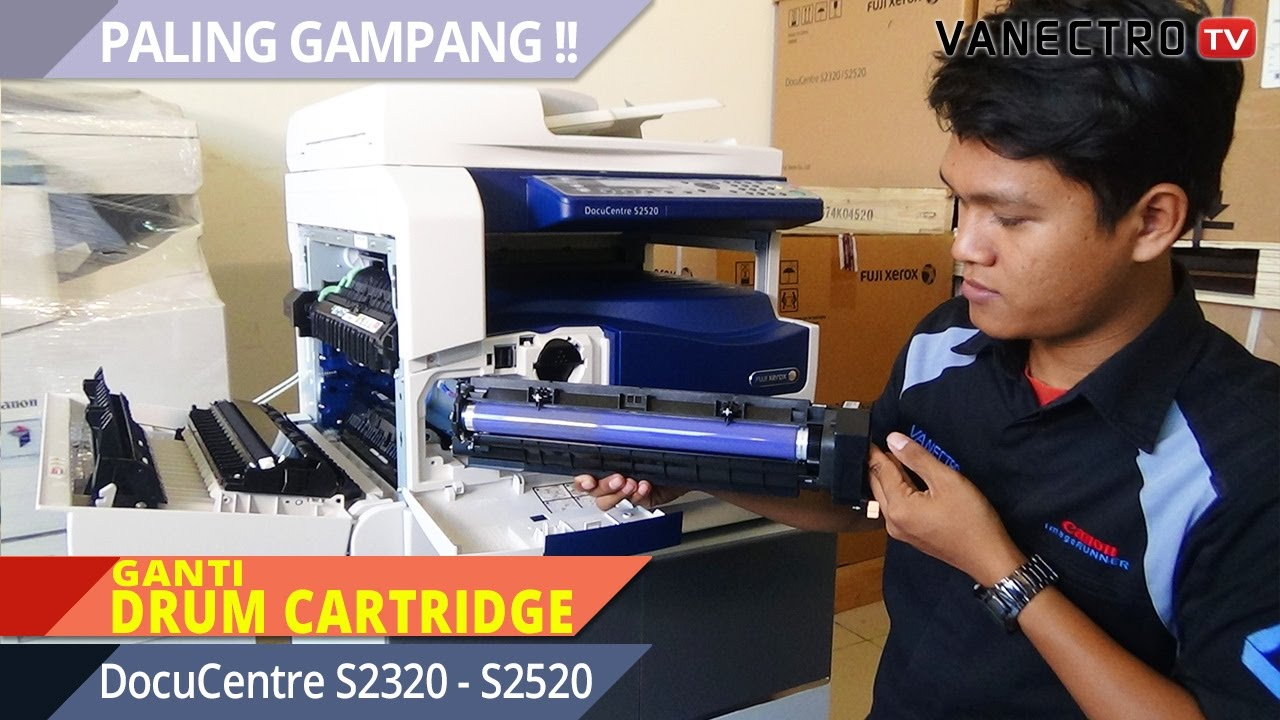 Gak Perlu Repot Ganti Drum Cartridge Fuji Xerox Docucentre