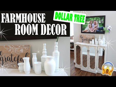 dollar tree farmhouse room decor vases