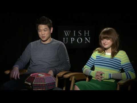 Wish Upon - Joey King & Ki Hong Lee Full Interview