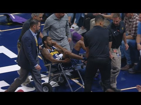 Barton Injury, Nikola Jokic Triple Double 35 Pts! 2018-19 NBA Season